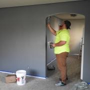 Home renovations underway